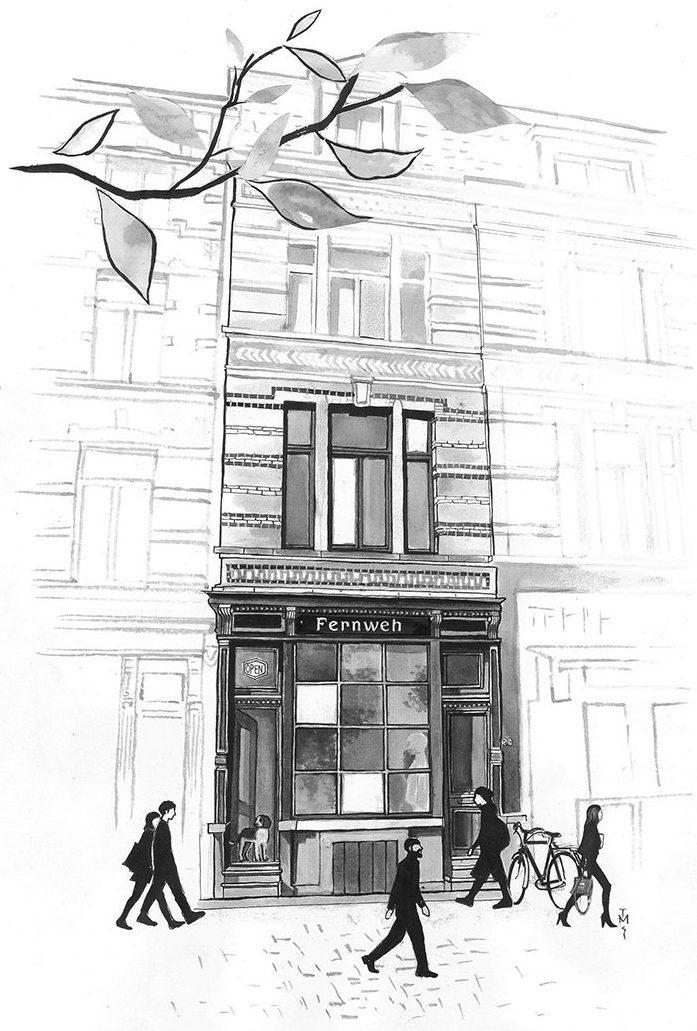 Fernweh store - Antwerp
