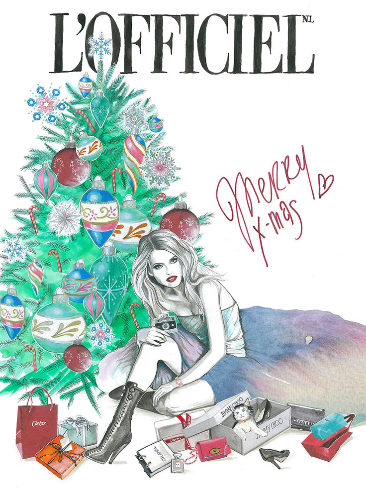 l'officiel - christmascard