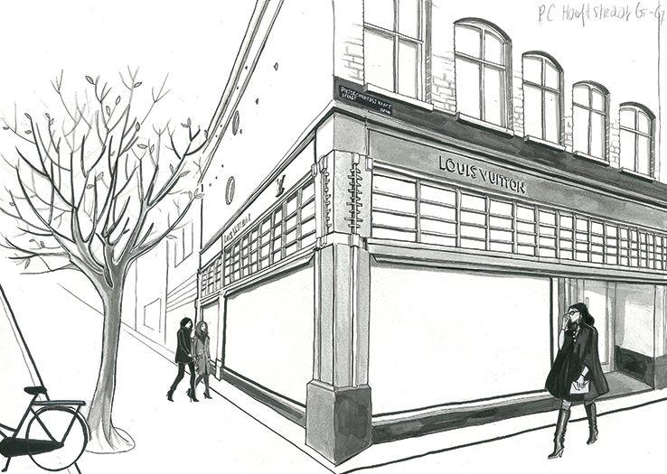 l'officiel promenade - louis vuiton store amsterdam
