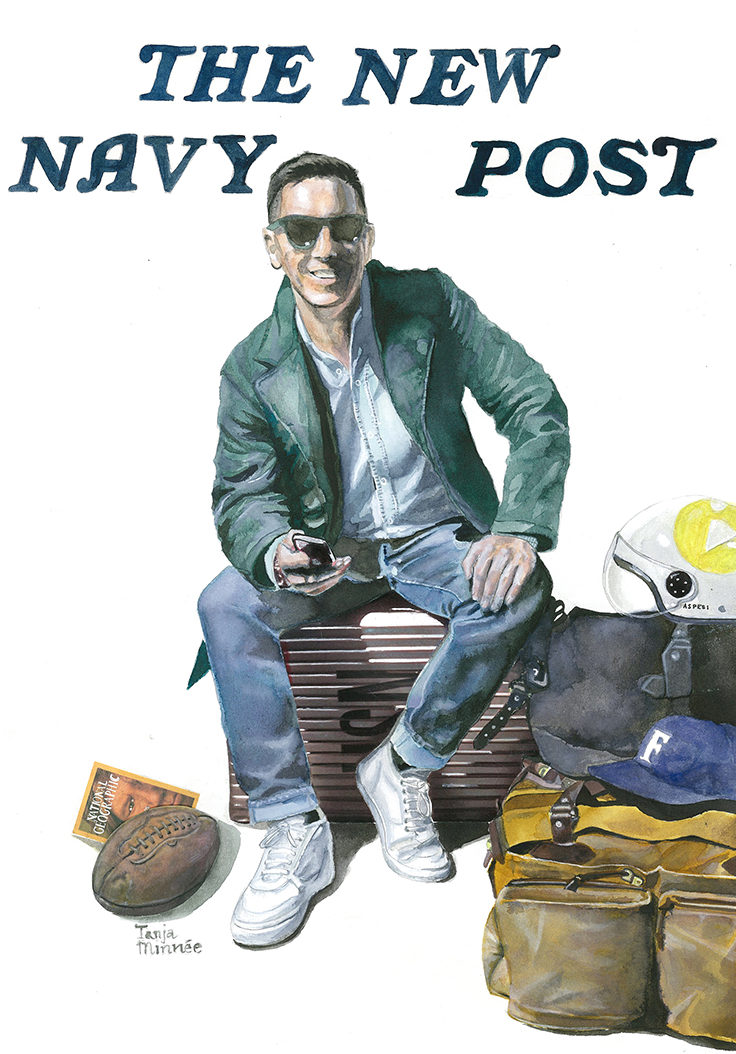 navy agency cover flyer