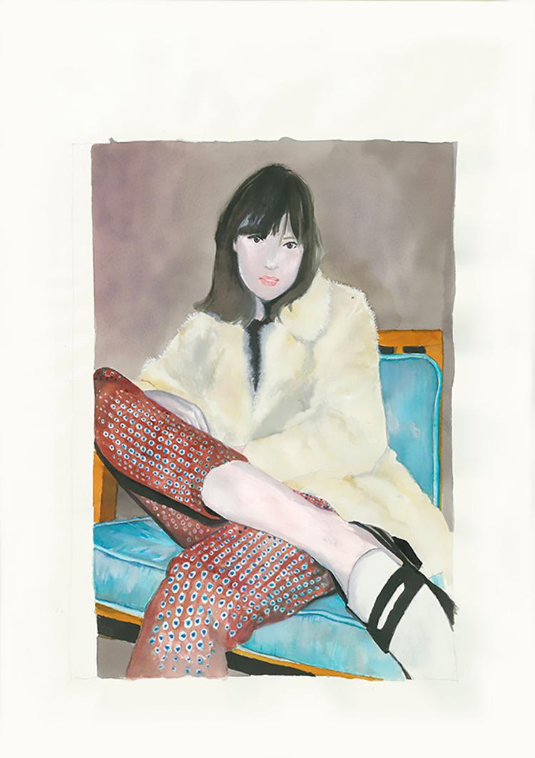shoes-aquarel